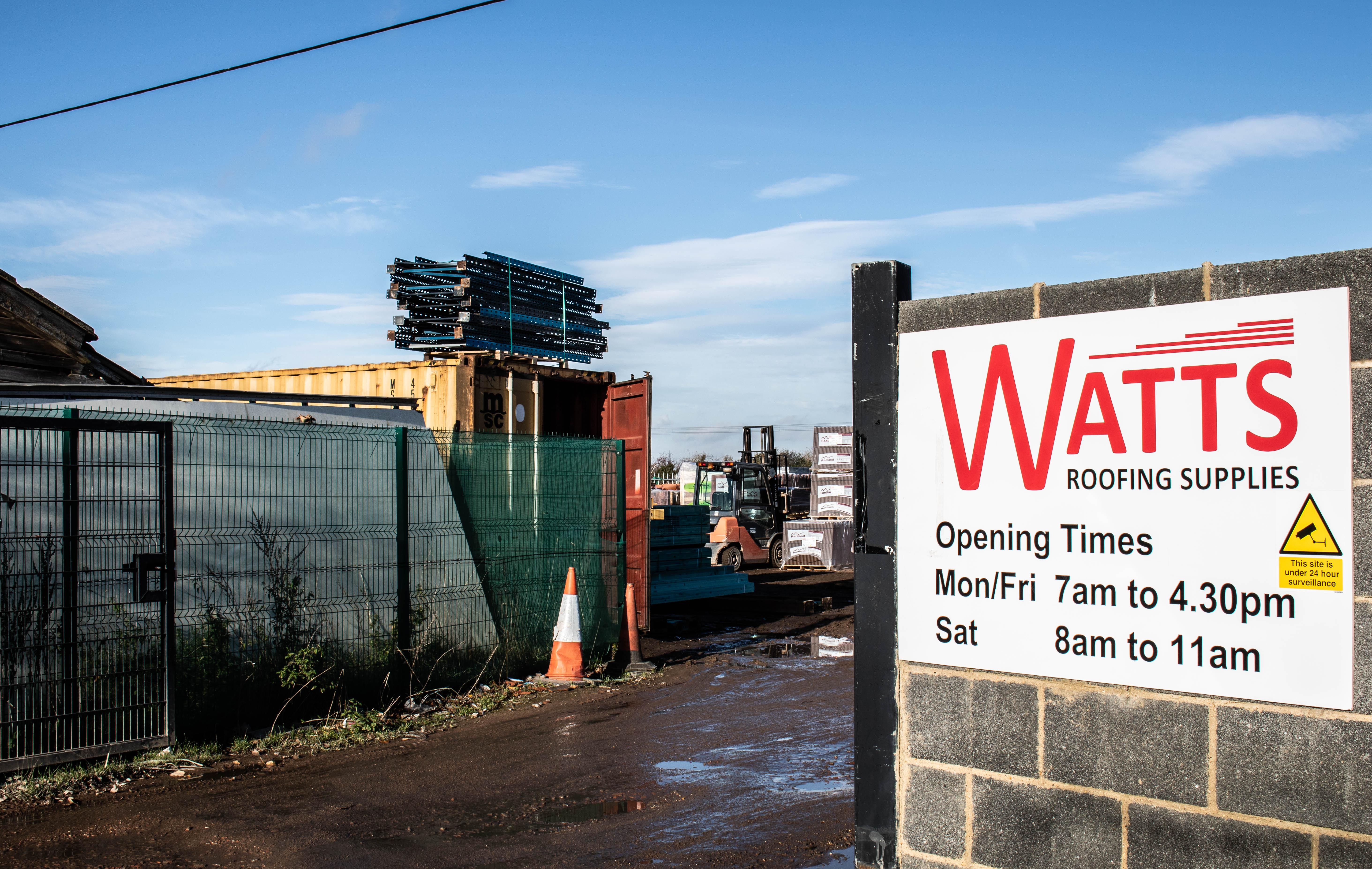 Baldock Branch - Watts Roofing Supplies