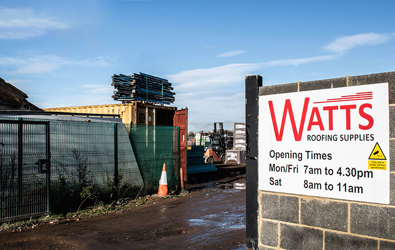Watts Roofing Supplies - Baldock