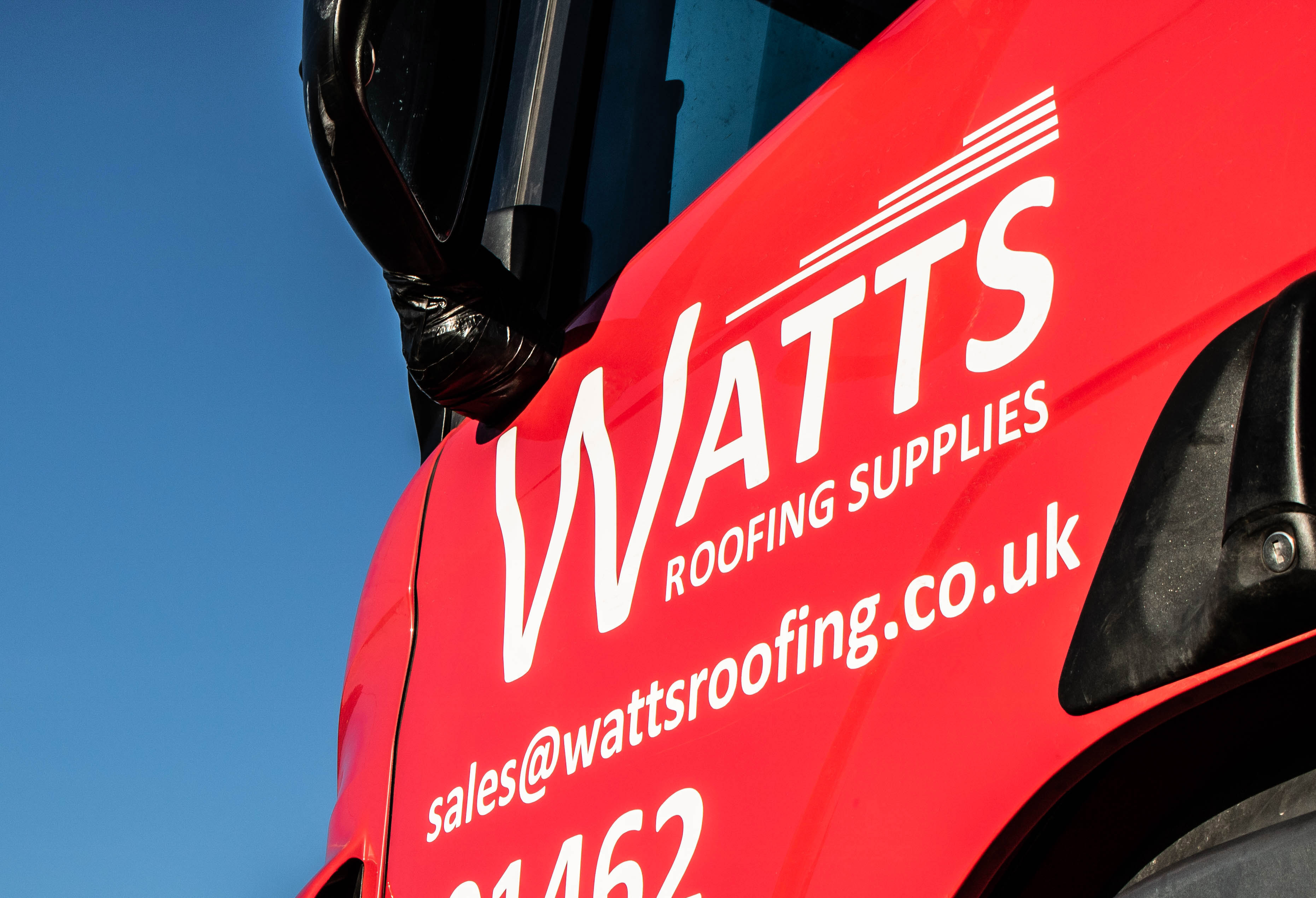 Truck - Watts Roofing Supplies