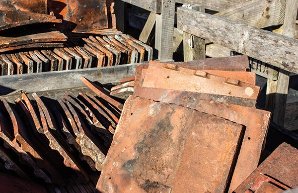 Photo of roofing reclaim at Watts Roofing Supplies in Baldock