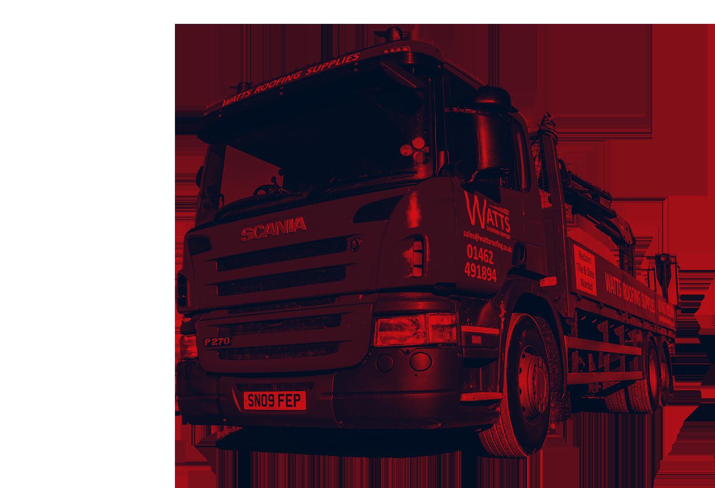 Watts Roofing Supplies truck